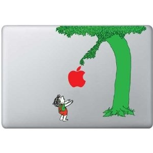 The Giving Tree Macbook Pro decal.