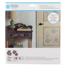 Martha Stewart Crafts® Vintage Décor Stencils, Blossom