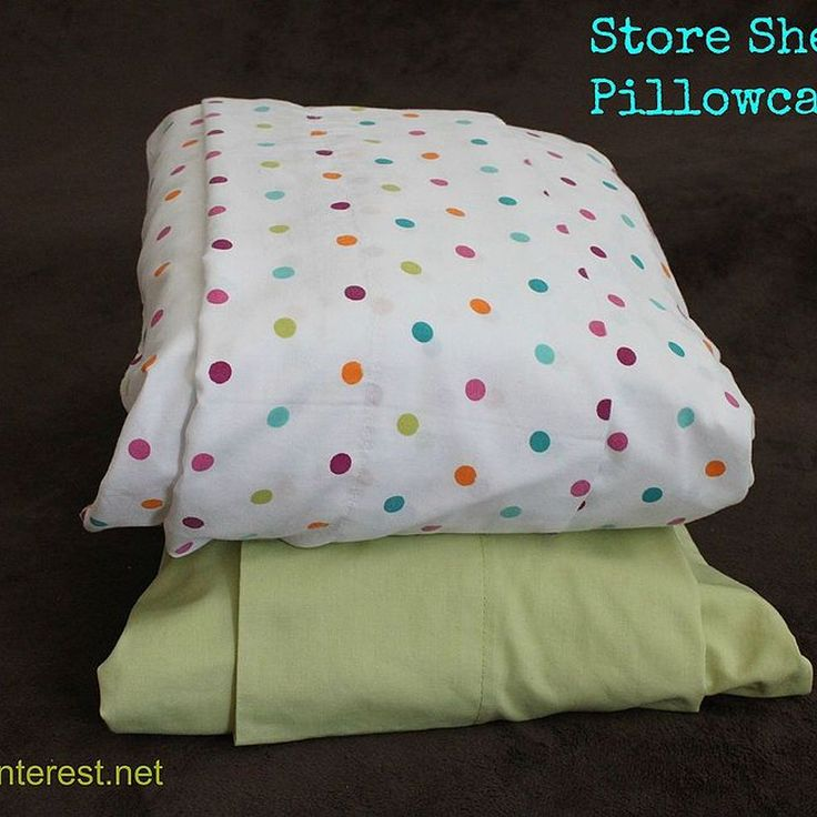 Store sheet sets in pillowcases