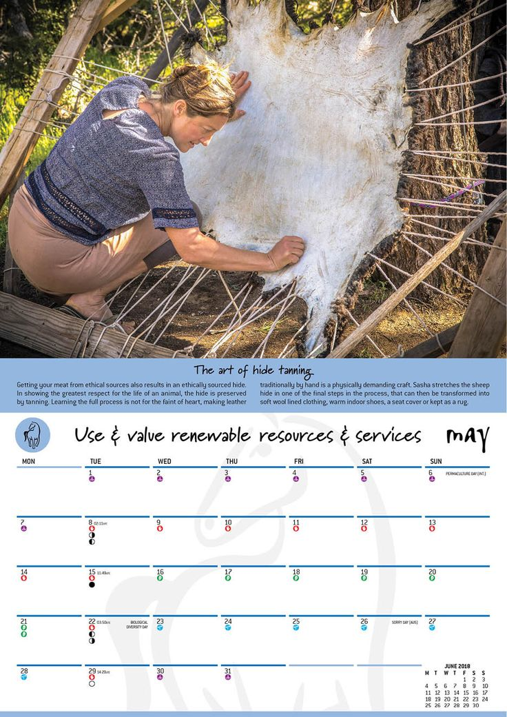 Optin for 2018 Permaculture Calendar spread