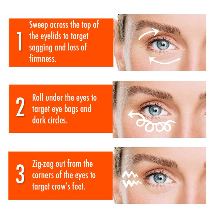 Banish tired eyes with these simple steps and our UC+ Platinum Tight Firm and Fill Eye Serum!