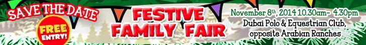 Festive Family Fair, ExpatWoman Dubai