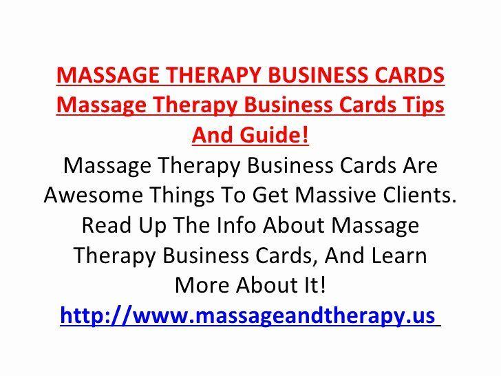 Massage Therapist Business Card Fresh Massage Therapy Business Cards Massage Therapy Business Cards Massage Therapy Business Massage Therapist