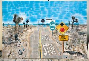 David Hockney book: Pearblossom Highway 11-18th April 1986 (Second Version)