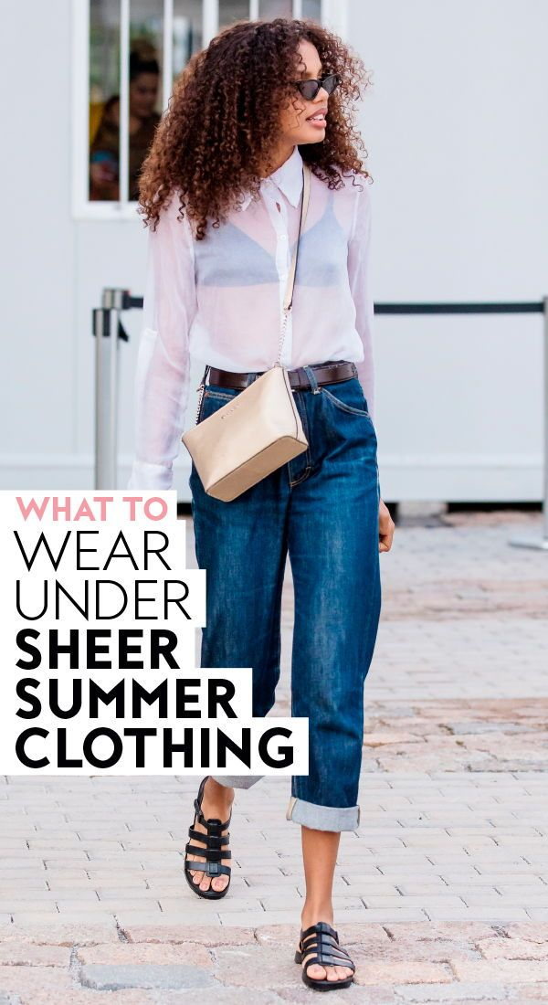 550b97b0 What to Wear Under Sheer Summer Clothing | Fashion | How to wear ...
