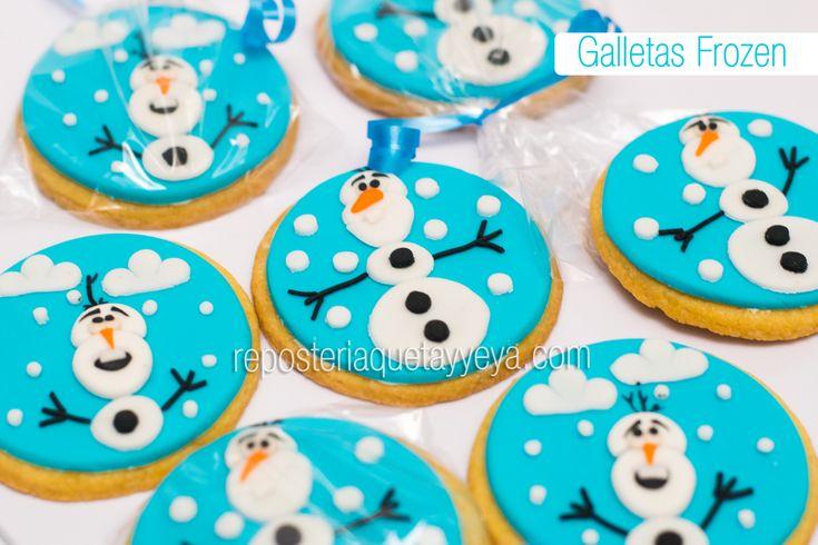 Frozen cookies - Galletas Frozen