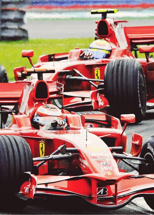 Kimi and Massa - Ferrari