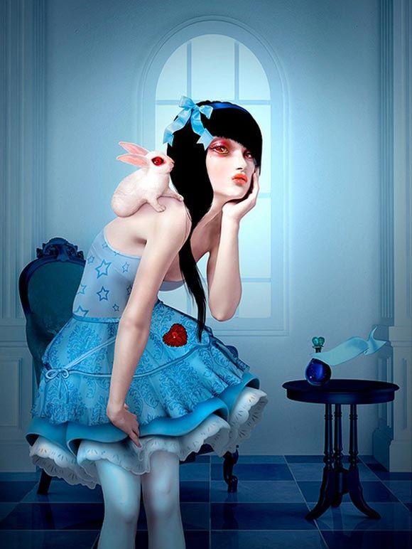 Natalie Shau - Alice and White Rabbit, 2009