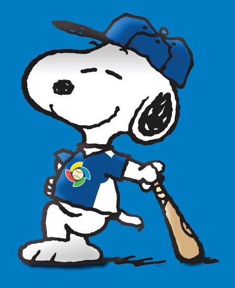 Snoopy, baseball