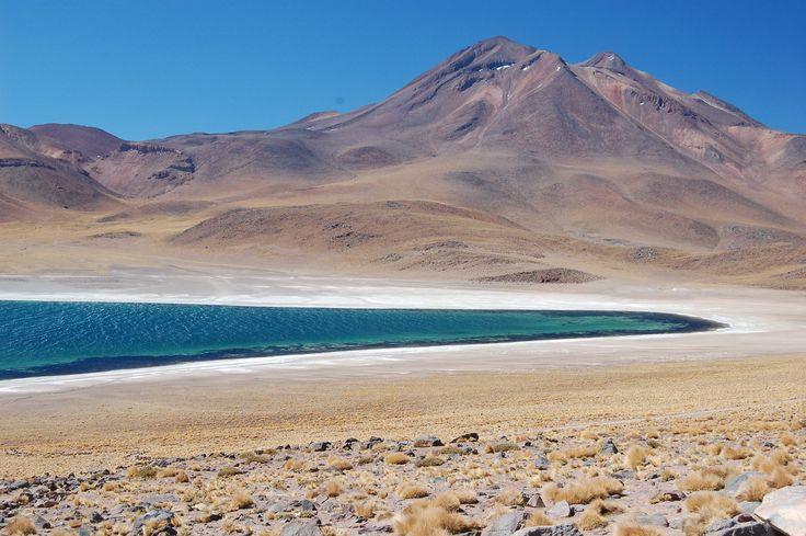 Lagoon in Altiplano, Atacama Desert Chile Eureka Travel #SouthAmerica