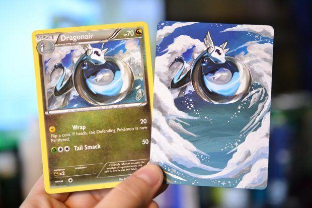 Ilustradora traz de volta à vida cartas de Pokémon TCG com belíssimos desenhos