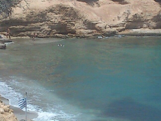 .Crete Saradari beach