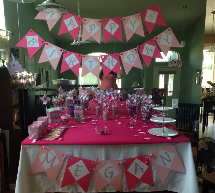 25+ Best Ideas About 18th Birthday Party On Pinterest