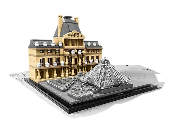 Celebrate the world of architecture with the LEGO® Louvre set!