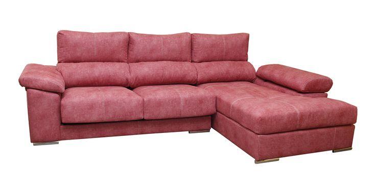 ¿Te atreves con un #sofa#rosa? Modelo #Qatar de #OKSofás