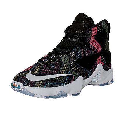 NIKE LeBron James LeBron XIII (Trece) Black History Month sneaker Kid\u0027s  high top shoe Lace up closur.