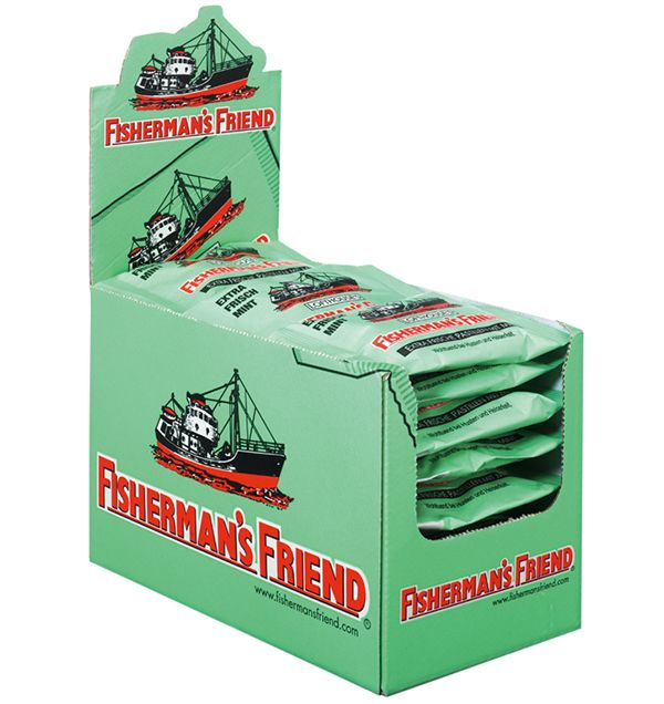 Fishermans Friend Mint Display