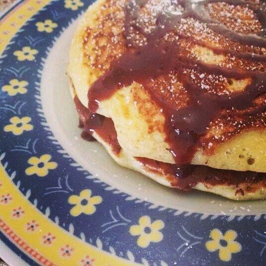 Pancake e Nutella