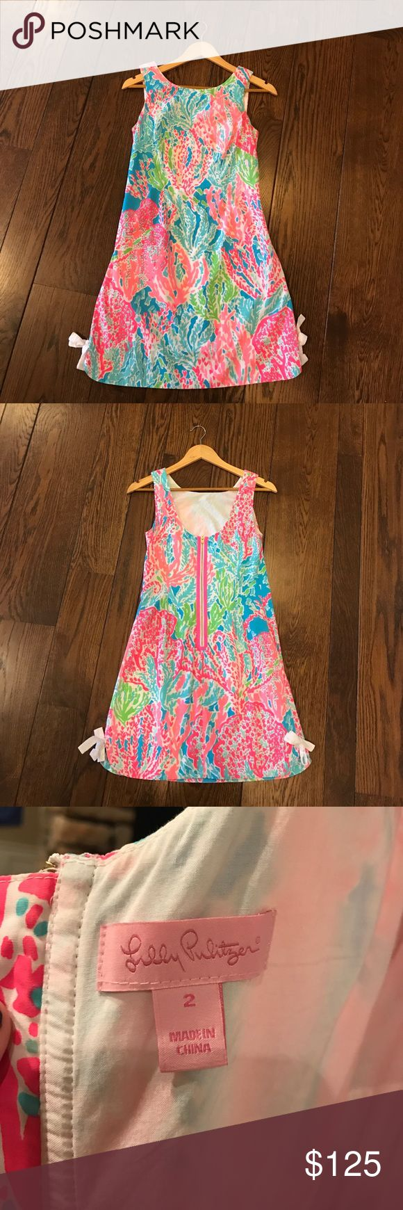 Lilly Pulitzer Delia Dress Lilly Pulitzer Let's Cha Cha Delia Dress! Cute and flattering dress perfect for all occasions! Bought for a wedding and only worn once! Lilly Pulitzer Dresses Mini