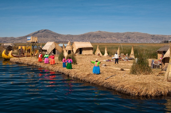 Lake Titicaca - the lake at the highest altitude in the world. I figure I've been to the body of water below sea level (dead sea) so I would love to balance my experience.