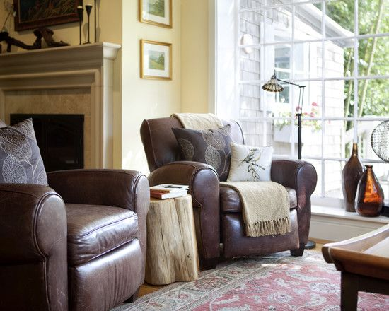 Decorate With Leather Furniture Design Pictures Remodel Decor And Ideas