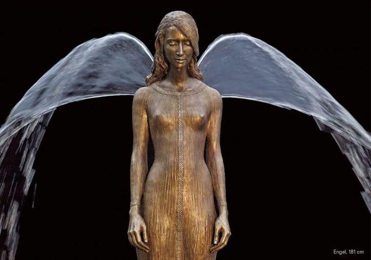 Невероятные фонтаны скульптора Malgorzata Chodakowska: гармоничное сочетание бронзы и воды - Ярмарка Мастеров - ручная работа, handmade