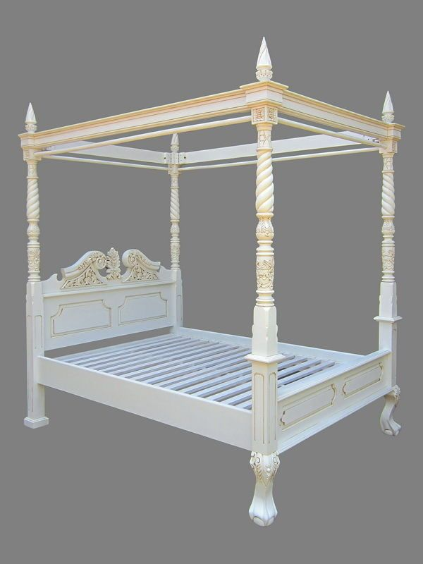 25 Best Ideas About Four Poster Bed Frame On Pinterest