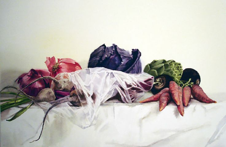 Purple Cabbage with Beets / Stephanie Anderson / 16.5x25_28x34FR