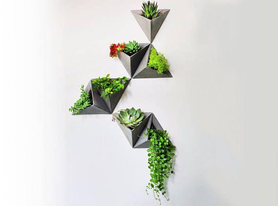 Diy Concrete Silicone Mold Vertical Garden Wall Planter Cement Vertical Garden Wall Planter Concrete Pots Wall Planter