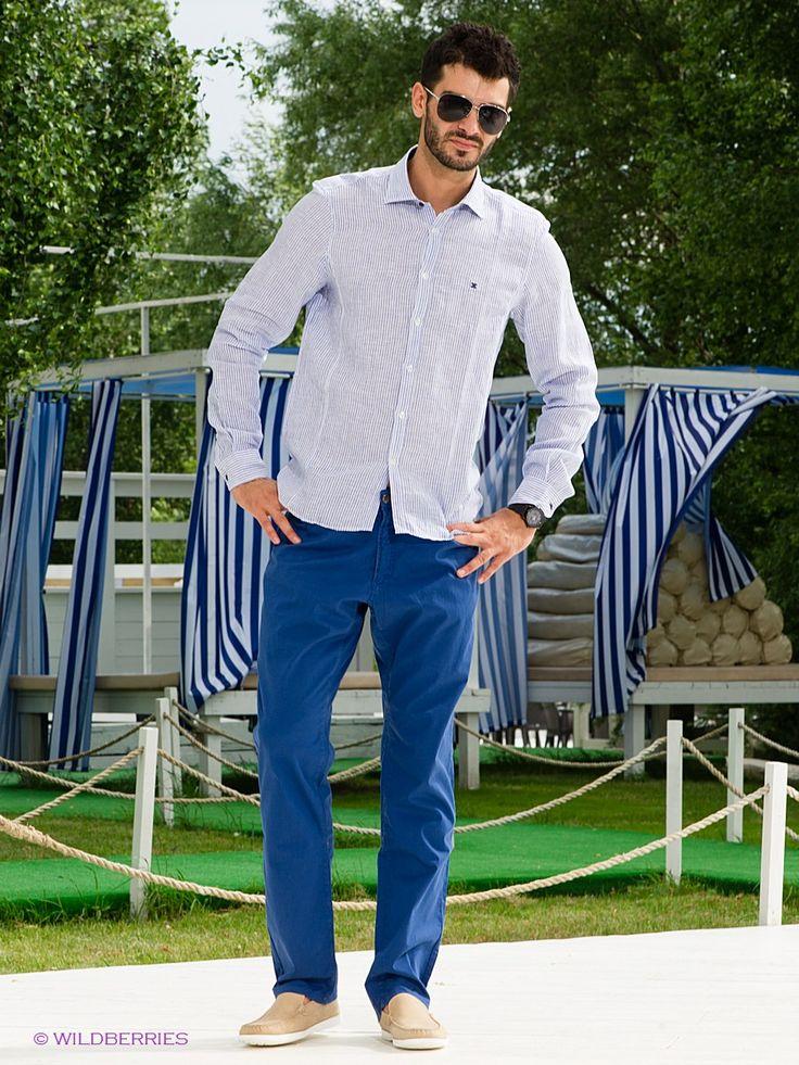 Выбрать в AMODERNA.RU  Замечательные брюки, выполненные из однотонного материала. Модель снабжена функциональными карманами и шлевками для ремня. Отличный вариант для повседневного использования