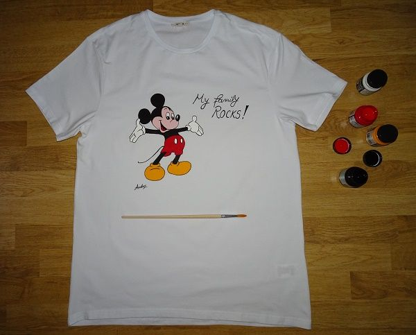 Tricou - Mickey Mouse #pictatmanual #tricouripictate
