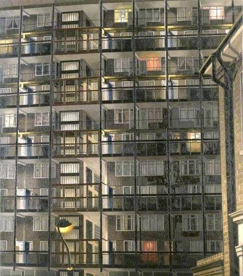 Camberwell Nocturne, painted 1984 David Hepher