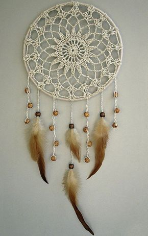 Doilie dream catcher