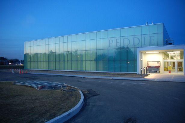 Peddie School Athletic Center | Studio Hillier | Archinect