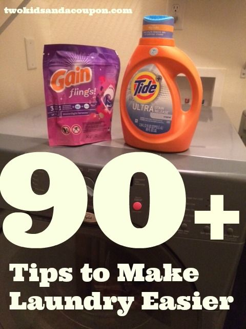 90+ Tips to Make Laundry Easier and Shopping for Laundry Products at @MyFamilyDollar – #Sponsored