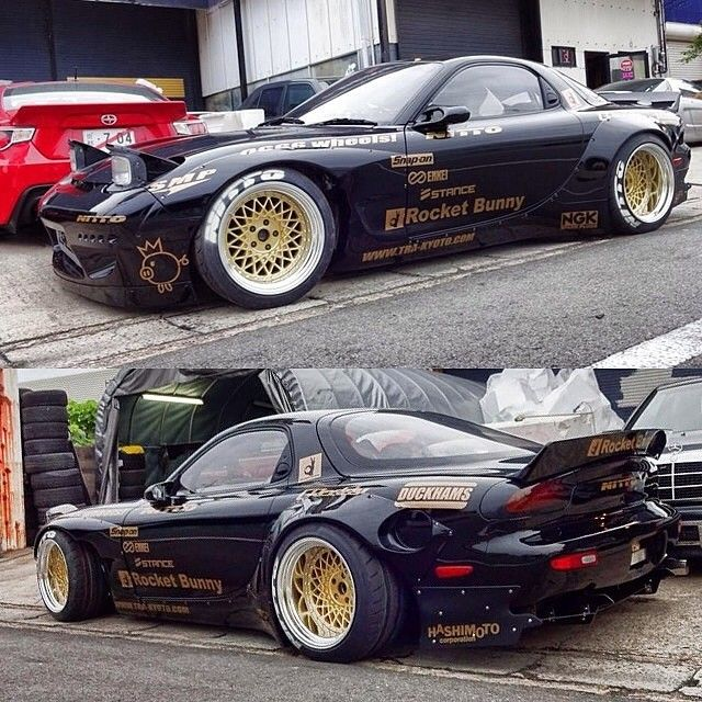 gold rims rx7 deepdish rims pinterest rx7 cars and 4x4 wheels. Black Bedroom Furniture Sets. Home Design Ideas