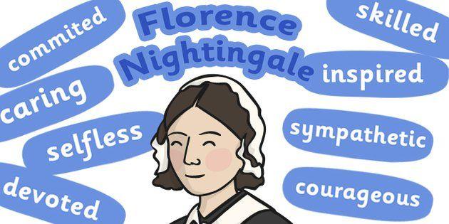 Florence Nightingale Character Traits Display - florence