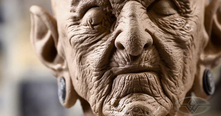 Learn fantasy character makeup sculpting with FX Artist Bruce Spaulding Fuller (PREDATOR 2, TERMINATOR 2, HELLBOY).