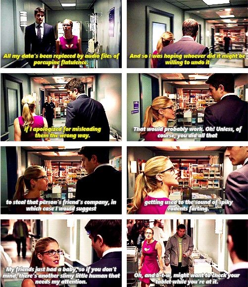 Arrow - Felicity Smoak and Ray Palmer #3.1 #Season3 ♥
