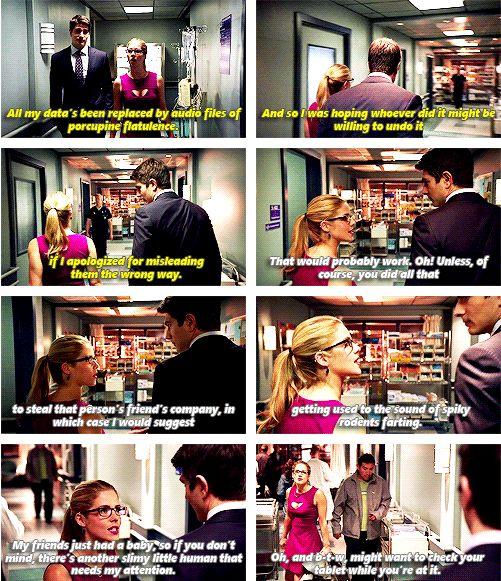 Arrow - Felicity Smoak and Ray Palmer #3.1 #Season3 ♥