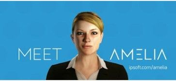 """Amelia, a cognitive knowledge worker from artificial intelligence company IPSoft, mentioned in the article """"The future of Applications"""" an Accenture Technology Point of View"""