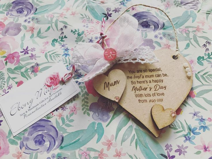 Mothers Day - 11th March 2018 . Take advantage of our free UK delivery on our stunning little Mum Gift Heart  #mothersday #mum #mummy #nan #nanny #nana #mothersdaygift #mothersday2018  #mothersdayinspo #mothersdaytreat #mothersdayideas #handmade #handmadegifts