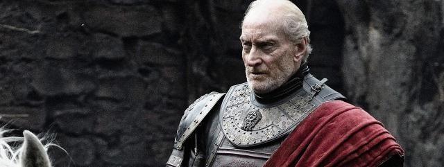 """Gra o Tron sezon 5: Głos Tywina Lannistera w """"Wiedźminie 3""""! Znany z roli Tywina Lannistera w """"GoT"""" aktor Charles Dance użyczył swojego głosu jednej z postaci w """"Wiedźminie 3""""! Zobaczcie, co mówi o o najnowszej odsłonie polskiej gry… Jak wszyscy fani """"Gry o Tron"""" doskonale wiedzą, Tywin Lannister podzielił już los ponad 450 postaci, które do tej pory zginęły w serialu - w 1. odcinku 5. sezonu """"GoT"""" mamy jeszcze tylko okazję zobaczyć pogrzeb zamordowanego bohatera. Przygoda Charlesa Dance z…"""