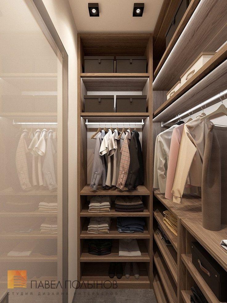 Фото: Гардеробная комната - Квартира в стиле минимализм, ЖК «Смольный парк», 103 кв.м.