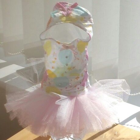 Balloon #Maltese party tutu for sale in Pixies Posh Pets or email us at Pixiesposhpets@yahoo.co.uk