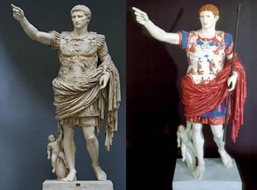 Ancient greeks romans shaved geitals