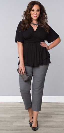 Try Dia&Co 2017 outfit inspiration. Beautiful curvy girl outfits sent right to your door. Dia&Co is a personal styling service for plus sized women sizes 14-32. $20 styling fee that goes to wards any purchase! Gorgeous clothing personalized to fit your needs. Click pic and try it out! You won't be disappointed...#Sponsored #Dia&Co