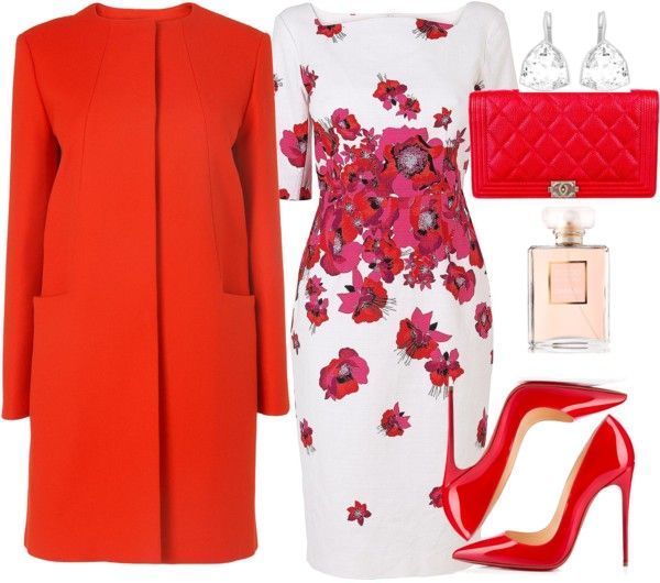 """""""Red aurora"""" by christine-792 on Polyvore"""