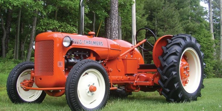 """Vintage Allis Chalmers Tractors : All my friends allis chalmers b """"lowrider old"""