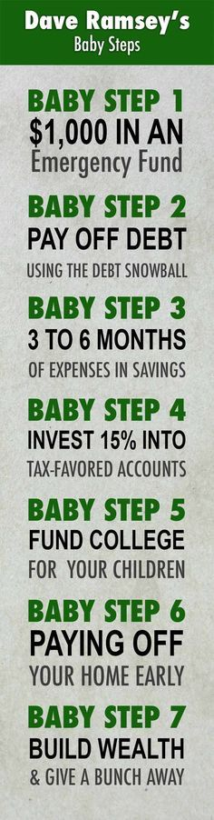 What Are Dave Ramsey's Baby Steps and Why Do They Work?